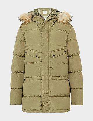 CP Company Fur Puffer Jacket
