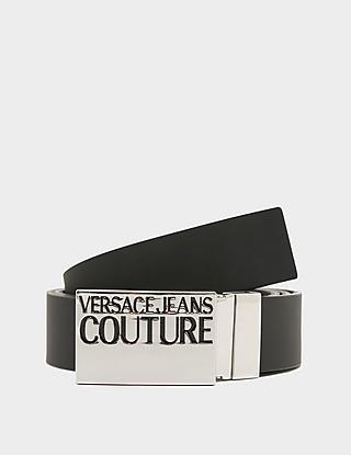 Versace Jeans Couture Logo Plaque Belt