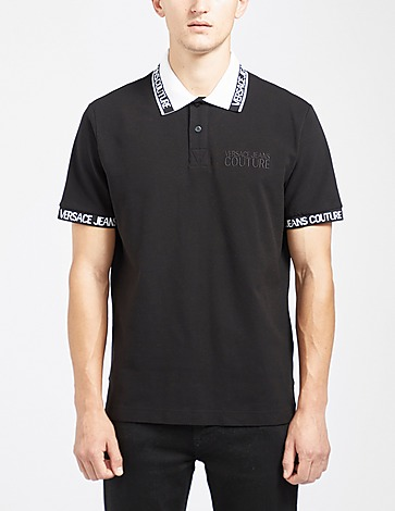 Versace Jeans Couture Collar Tape Polo Shirt
