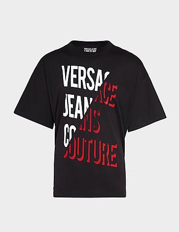 Versace Jeans Couture Split Text T-Shirt
