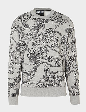Versace Jeans Couture Baroque All Over Print Sweatshirt