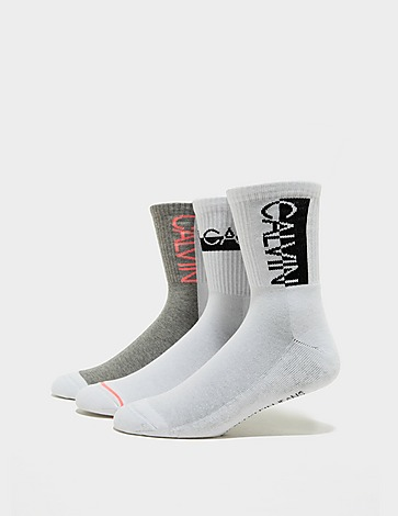Calvin Klein Underwear 3 Pack Nina Socks