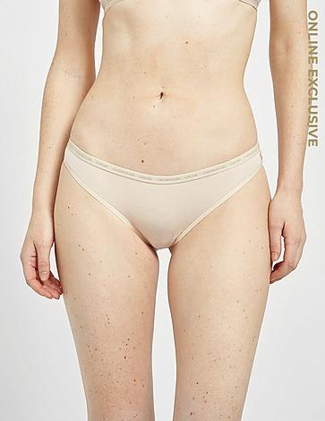 Calvin Klein Underwear One 2 Pack Tonal Thongs