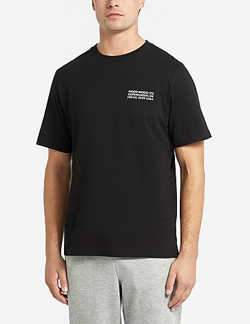 Wood Wood Sami Info T-Shirt