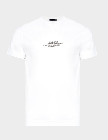 Emporio Armani Stacked Logo T-Shirt