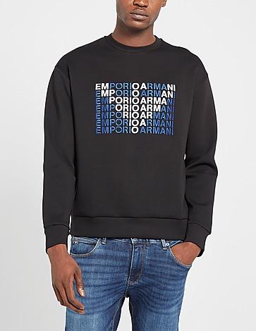 Emporio Armani Eagle In Logo Crew Sweatshirt