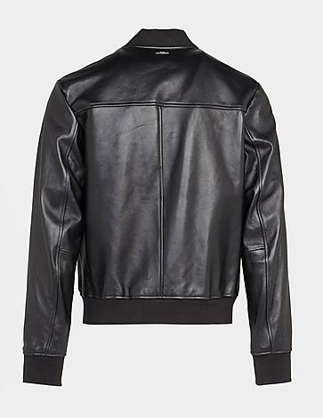 BOSS Nablan Leather Bomber Jacket