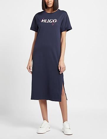 HUGO Long T-Shirt Dress