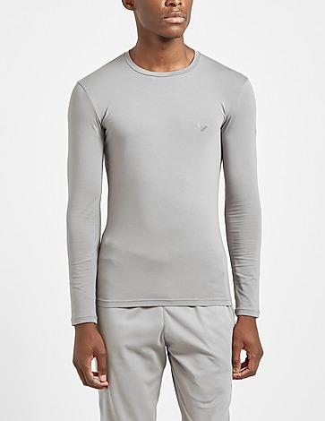 Emporio Armani Loungewear Shiny Logo T-Shirt