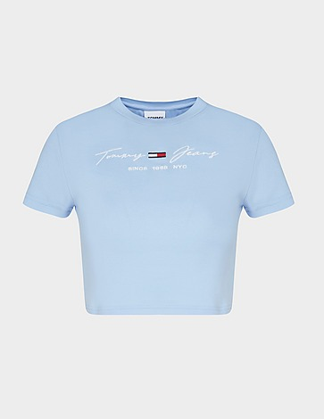 Tommy Jeans Ribbed T-Shirt