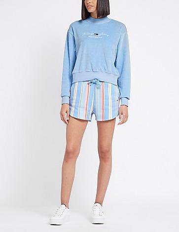 Tommy Jeans Stripe Sweat Shorts