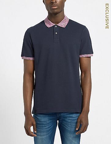 PS Paul Smith Space Dye Collar Polo Shirt