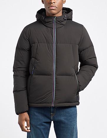 PS Paul Smith Sports Stripe Hood Puffer Jacket