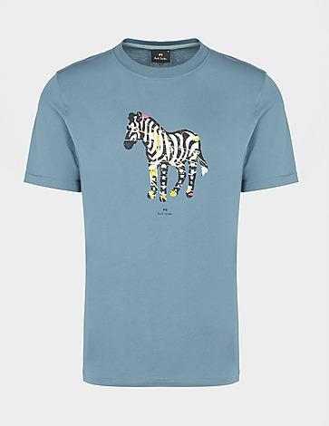 PS Paul Smith Scribble Zebra T-Shirt