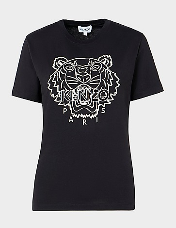 KENZO Tiger Embroidered T-Shirt