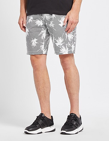 Calvin Klein Jeans All Over Palm Shorts