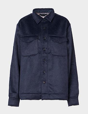 Tommy Hilfiger Wool Blend Overshirt