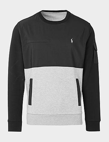 Polo Ralph Lauren Mix Media Crew Sweatshirt
