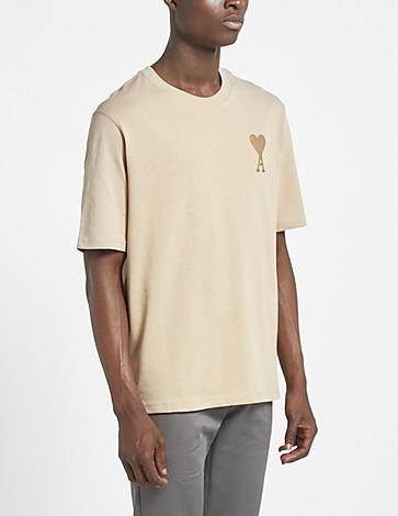 AMI Paris Large Tonal Heart T-Shirt