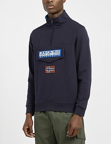 Napapijri Burgee Half Zip Sweatshirt