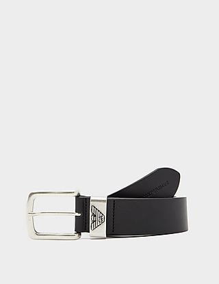 Emporio Armani Eagle Leather Belt