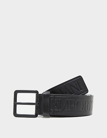 Emporio Armani Leather Embossed Belt