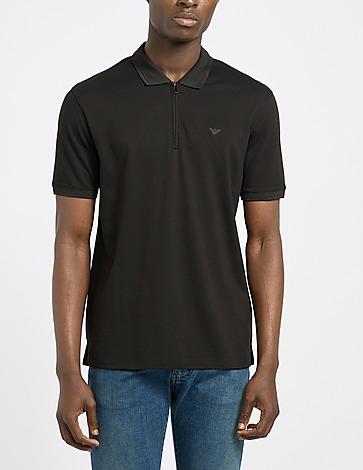 Emporio Armani Merced Zip Polo Shirt