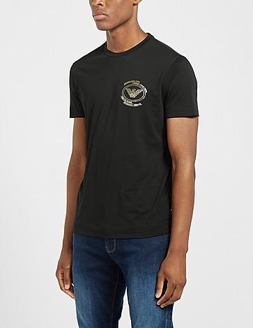 Emporio Armani Gold Eagle City T-Shirt