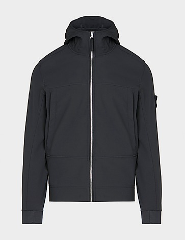 Stone Island Softshell Hooded Jacket