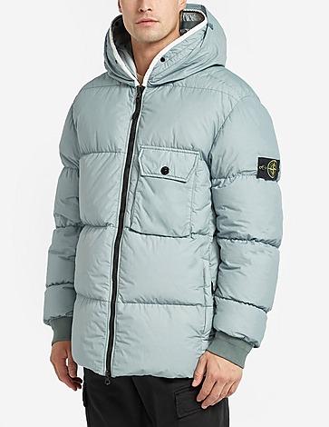 Stone Island Naslan Silk Hooded Jacket