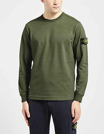 Stone Island Gauze Badge Sweatshirt