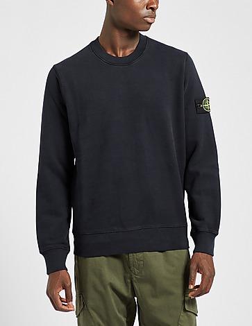 Stone Island Badge Brushed Sweatshirt