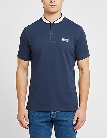 Barbour International Bomber Collar Polo Shirt
