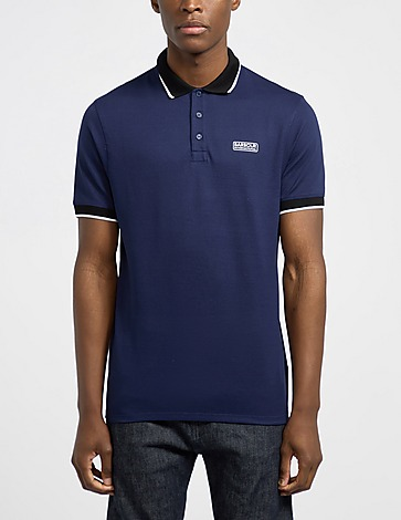 Barbour International Contrast Pique Polo Shirt