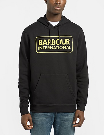 Barbour International Large Logo Hoodie
