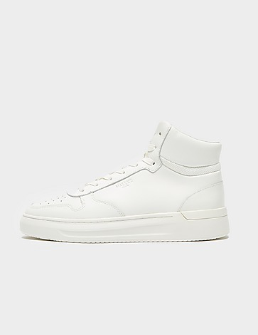 Mallet Hoxton Leather Mid Top Trainers