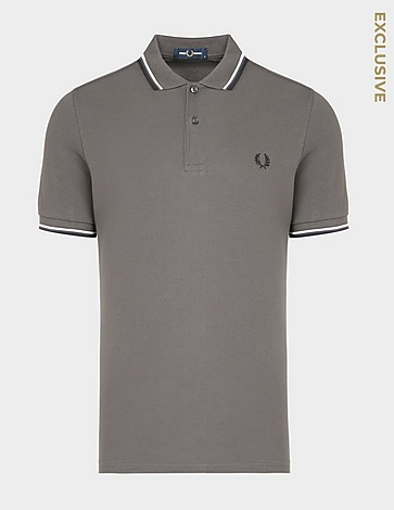 Fred Perry Twin Tip Polo Shirt - Exclusive