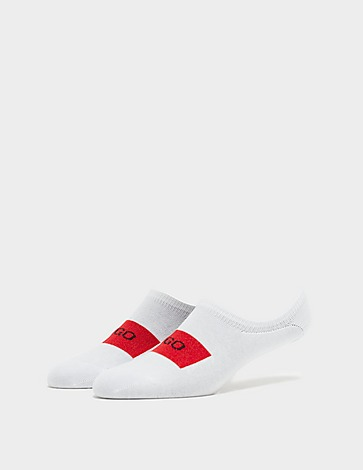 HUGO 2 Pack Low Cut Socks