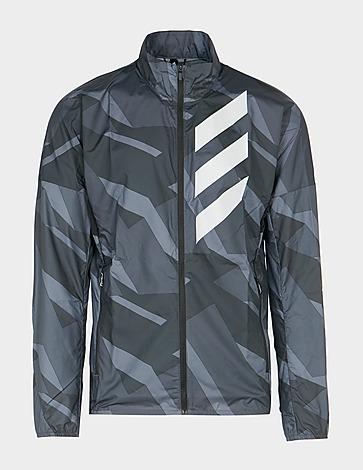 adidas Terrex Camo Windbreaker Jacket