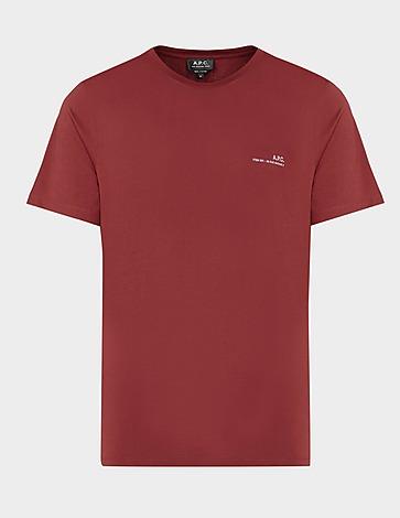 A.P.C Small Rue Logo T-Shirt