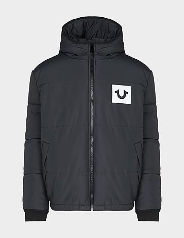 True Religion Reflective Square Puffer Coat
