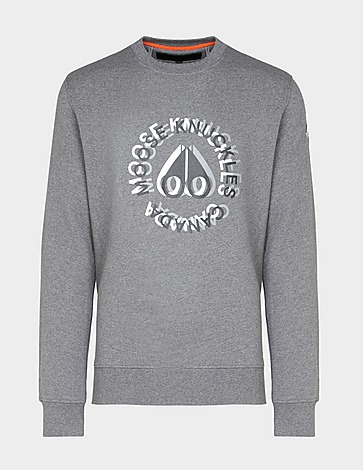 Moose Knuckles Kenamu Double Logo Sweatshirt