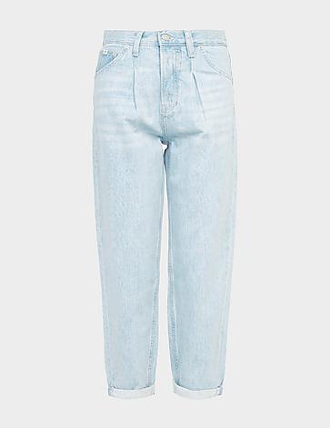 Calvin Klein Jeans High-Rise Baggy Jeans