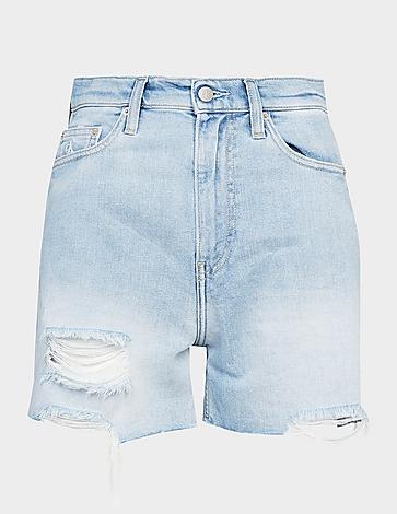 Calvin Klein Jeans Mom Denim Shorts