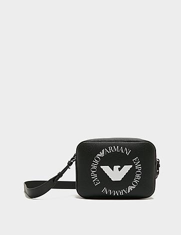 Emporio Armani Round Logo Camera Bag