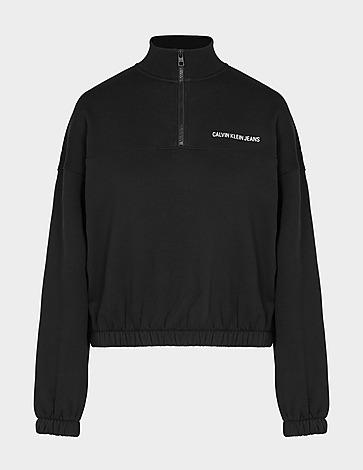 Calvin Klein Jeans Institutional 1/4 Zip Sweatshirt