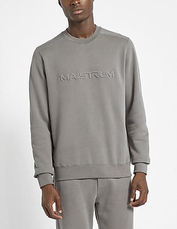 Ma Strum Embossed Logo Sweatshirt