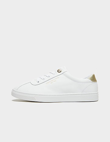 Tommy Hilfiger Leather Court Trainers