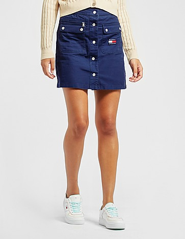 Tommy Jeans Button Skirt