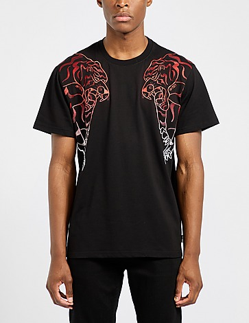 IUTER Red Nepal Embroidered T-Shirt